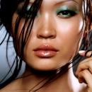 Новогодний бирюзовый макияж 2012
