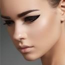 Стрелки на глазах, макияж стрелки