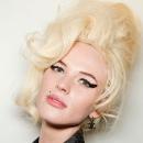 Модный показ Jean Paul Gaultier, стрелки на глазах