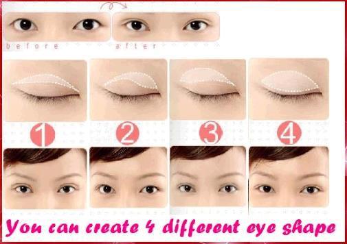 Сделать форму глаз как у азиатов Это удивляет: тренды по-азиатски / азиаты с голубыми