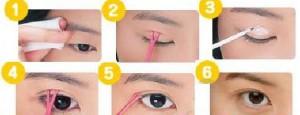 Клей для изменения разреза глаз, как изменить азиатский разрез глаз на европейский